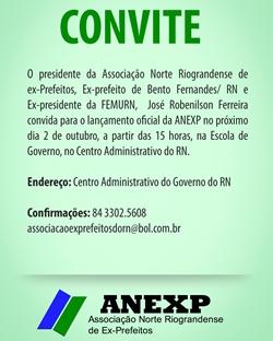 CONVITE ANEXP