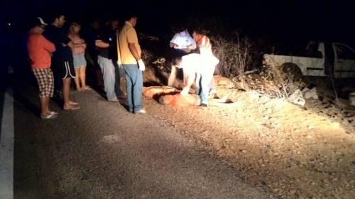 Vítimas no local do acidente (foto:o câmara)