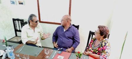 José Adécio se reúne com lideranças no vale do Açú