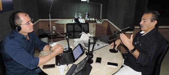 José Adécio entrevistado por Alex Viana na 94 FM