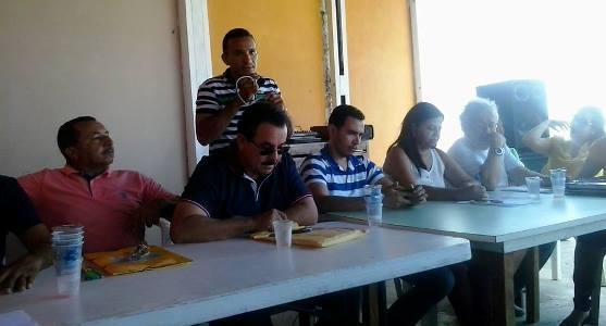 Reunião política da situação em Maxaranguape