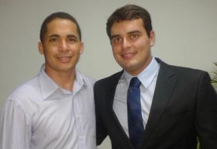 Bruno Patriota (dir) s seu vice são alvos de pedido de afastamento