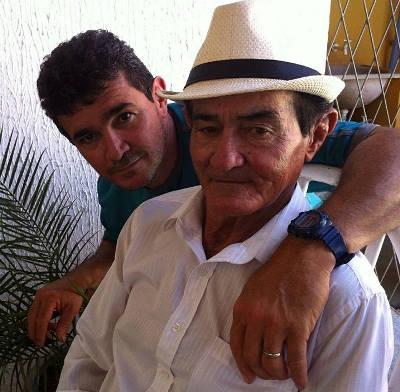 Ex-vereador miguel Vicente e o filho Marcelo Nunes(Barrinha)