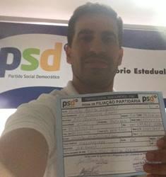 Reinaldo Bezerril se filia ao PSD
