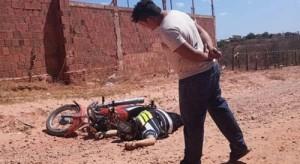 Vigilante e mototaxista morto em Mossoró