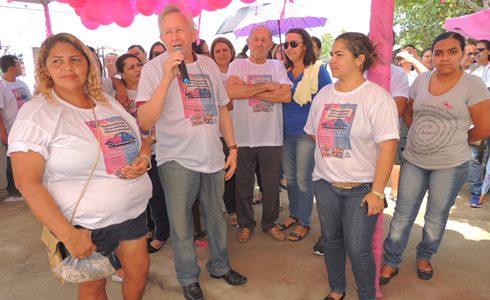 Dr. Assis fala na abertura do Outubro Rosa em João Câmara