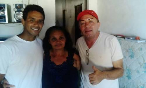 Vereador prefeitável Jacson visita amigos