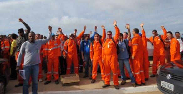 Petroleiros lotados nas bases operacionais da Petrobrás no RN decidiram aderir à greve nacional deflagrada no último domingo.