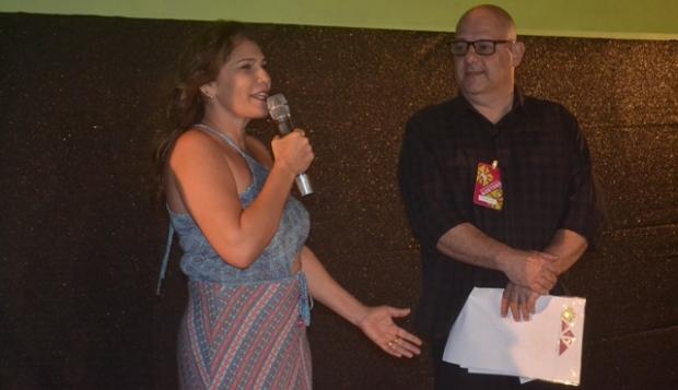 Prefeita Fafá Dantas abre 3º Festival de Cinema de Gostoso(Foto: Marco Montoril)