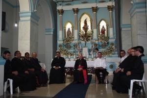 Bispo reunido com padres do 6º Zonal