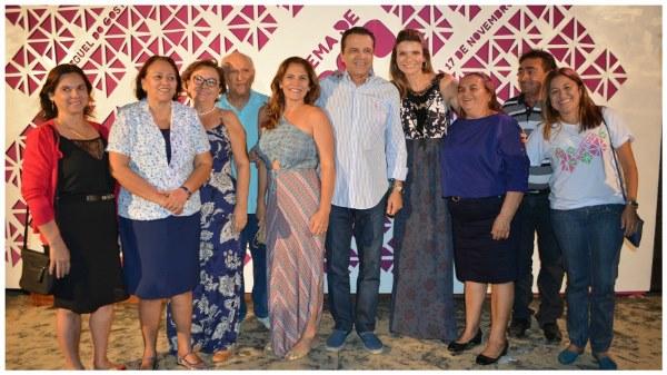 Ministro Henrique Alves e Senadora Fátima Bezerra prestigiam evento