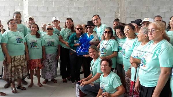 GRupos de idosos participam de encontro regional em São Miguel do Gostoso