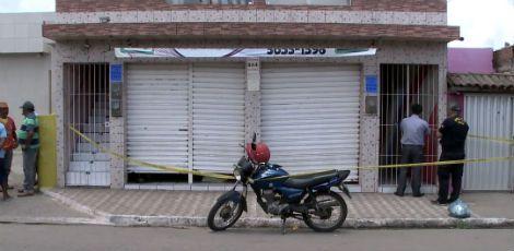 Radialista foi morto dentro de papelaria Foto: Reprodução/TV Jornal