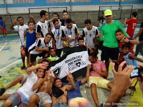Botafogo campeão da Taça Mamede Júnior 2015