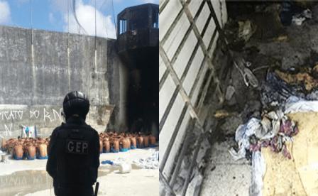Novos túneis são encontrados em Alcaçuz
