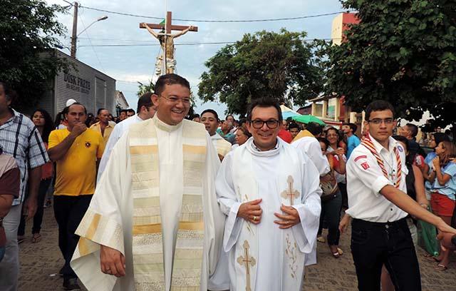 Pe. Fábio(João Câmara) e Pe. Bianor Jr.(Ceará Mirim)