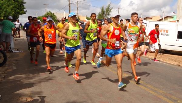 Largada da Maratona Oriental relizada neste domingo