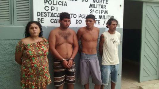 Detidos