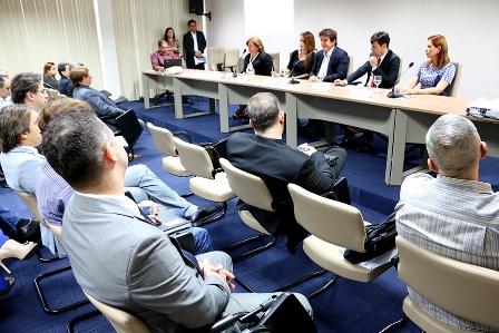 REunião com secretariado (Foto:Ivanizio Ramos)