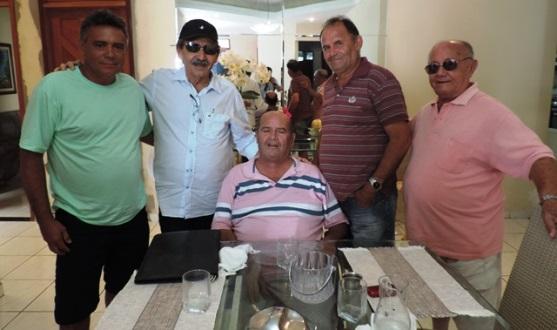Deputado José Adécio visita os ex-prefeitos Bibi e Amarildo