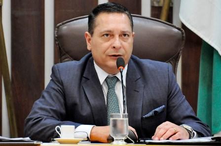 Presidente da AL, Ezequiel Ferreira