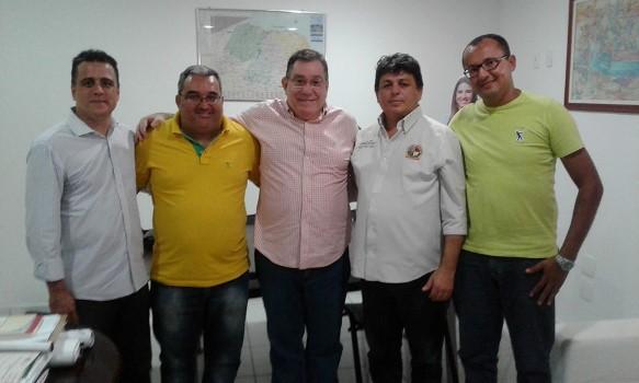 Alexandre Gusmão, Holderlin, Wober Júnior, Maurício e Jadson Nascimento
