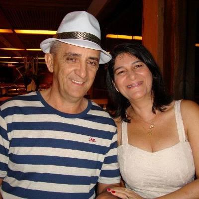 Ex-prefeito Júnior e a esposa Clébia