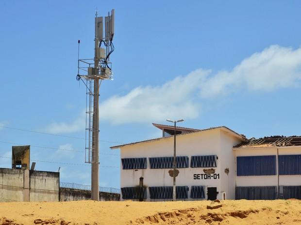 Bloqueadores de celulares já em funcionamento em Alcaçuz