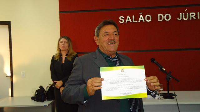 Laércio Neves diplomado vice-prefeito de jandaíra