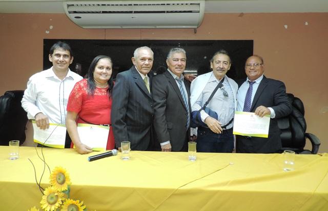 Deputado José Adécio participa de diplomação dos eleitos em Pendências