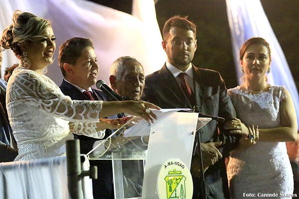 Posse do prefeito Túlio Lemos (foto: Canindé Soares)