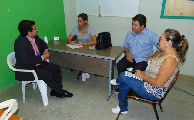 Prefeita Marina recebe o novo gerente do Banco do Brasil