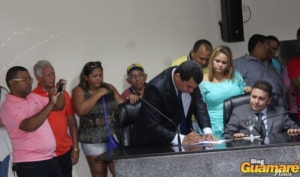 Lula assume prefeitura de Guamaré interinamente