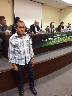 Vereador Daniel, presidente da Câmara Municipal de joão Câmara