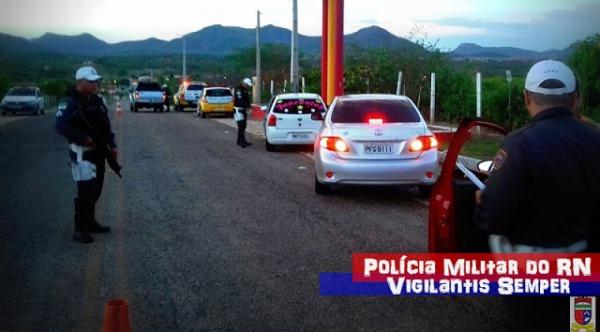 Blitz da Polícia Rodoviária Estadual
