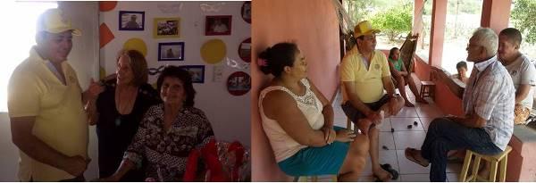 Visita do prefeito Maurício  a comunidade de Cauaçu