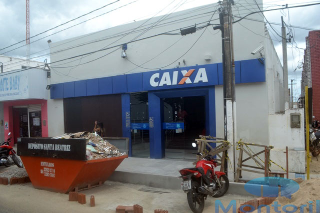 Caixa Econômica voltou a funcionar em João Câmara (Foto: Marco Montoril)