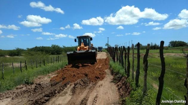 Estradas vicinais são recuperadas pela prefeitura em Guamaré