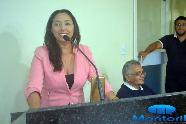 Vereadora Aize Bezerra (Foto: Marco Montoril)