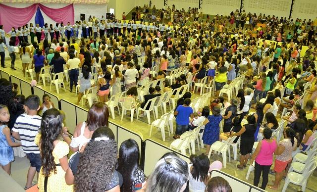 Festa das mães promovida pela prefeitura de Parazinho