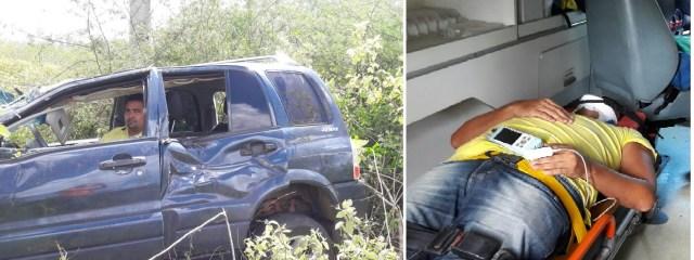Vereador Emilson foi socorrido pelo SAMU e conduzido para Natal Foto: Whatzap