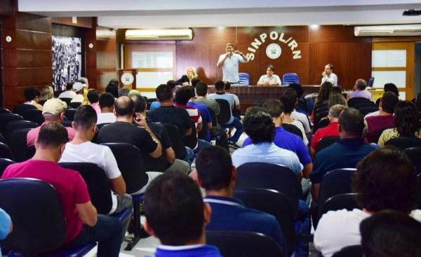 Policiais civis do RN paralisam atividades no dia 30 de junho e nos dias 11 e 12 de julho