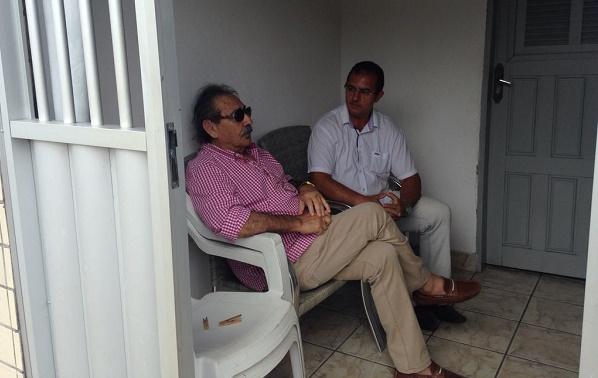 Resultado de imagem para José Adécio e o vereador Kleiber Chacon