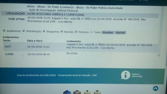 Resultado de imagem para Mantida cassação dos diplomas do prefeito, vice-prefeito e vereador de João Câmara