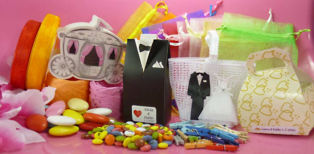Ideas para regalar los regalos de boda
