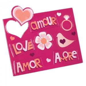 Imanes para notas románticas