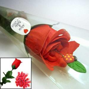 Flores de jabón para regalar