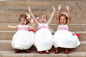 Niñas en bodas