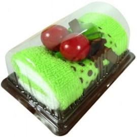 Toallas pastelito verdes