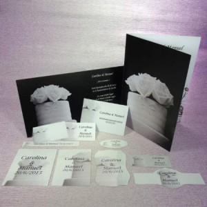 Colección de Bodas en blanco y negro